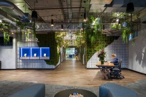Atlassian Sydney Lift Lobby Reception ELS 2017