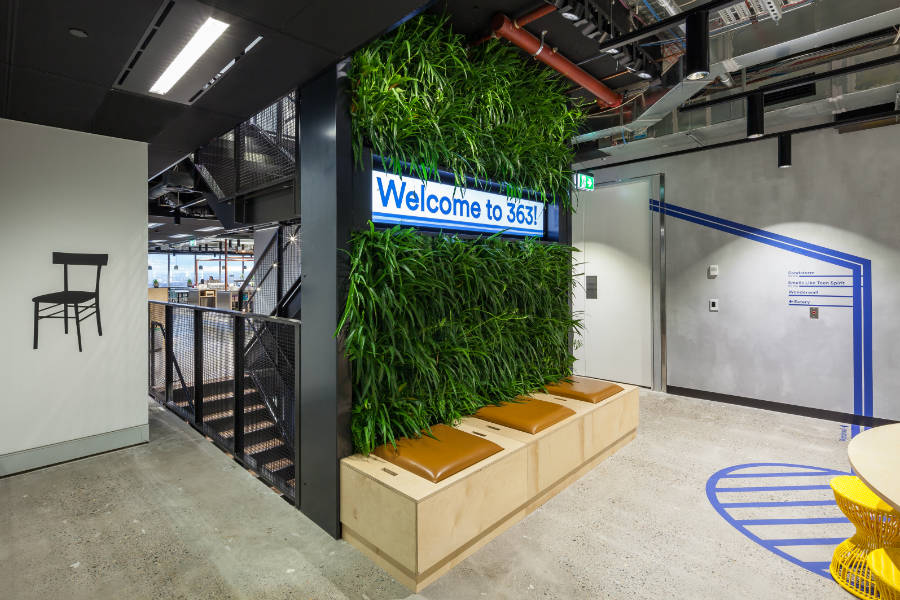 Atlassian Sydney Stairs ELS 2017