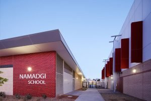 Weatherproof Lights Namadgi School Canberra