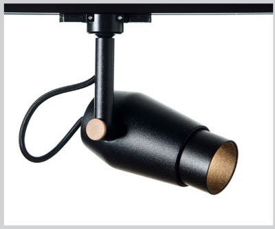 ICONIC TRACKLIGHT Black Snoot 30mm