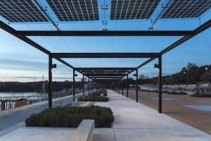 Coal Loader Centre in Sydney featuring Ligman exterior Lighting