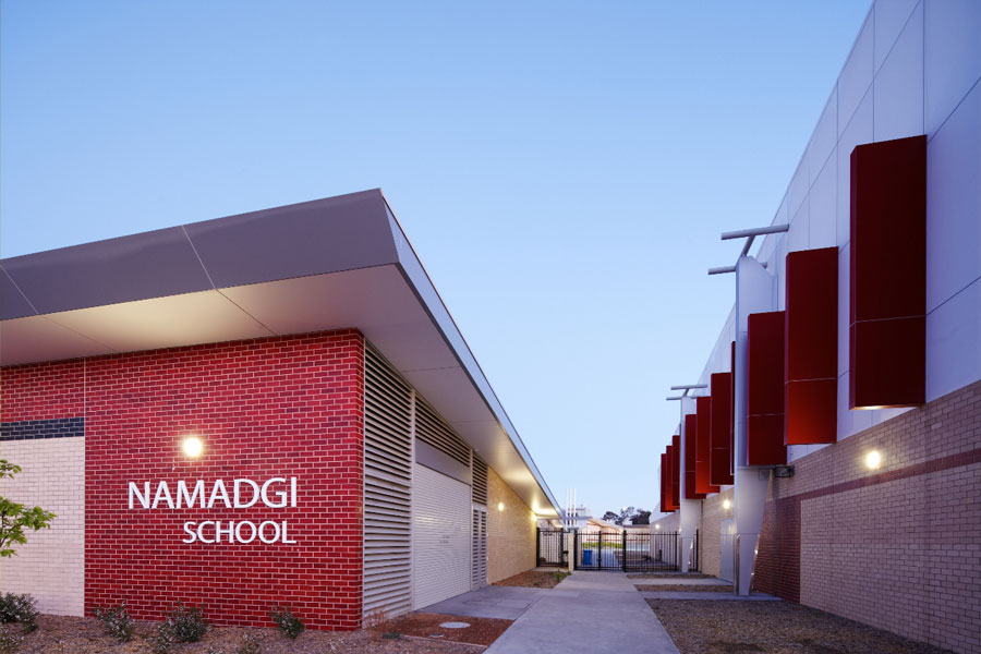 Weatherproof Lights Namadgi School Canberra